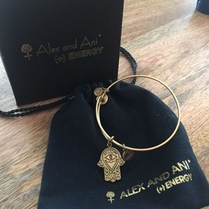 Alex and Ani palm bracelet